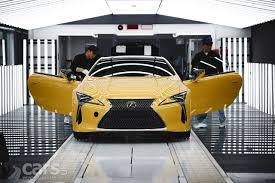 lexus lc reveal lexus lc goes in to production for uk market first lc coupes in
