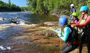 swiftwater rescue for fieldwork boreal river