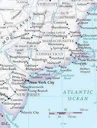 United States Map East Coast by Classroom Atlas Of The United States Maps Com
