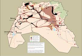 Islamic State Territory Map by The Islamic State Daesh A Military Analysis The Tacticians