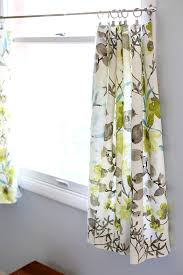 super simple diy cafe curtains just a and her blog