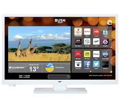 buy bush 24 inch hd ready smart tv with dvd player white at