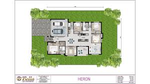 Queensland Home Design Plans The Heron Bella Qld Properties