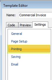 connecting your printer to print commercial invoice fedex ups