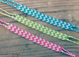 double friendship bracelet images Rainbow double chevron friendship bracelets friendship bracelets jpg