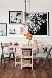 alice gateleg table and kingery folding chairs 1 trend hotspot