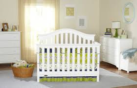 Crib White Convertible by Graco Bryson 4 In 1 Convertible Crib Baby Safety Zone Powered