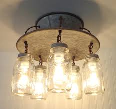 Light Fixture Ceiling An Exclusive L Goods Jar Light 5 Light The L Goods