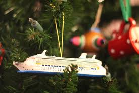 cruise ship ornaments rainforest islands ferry