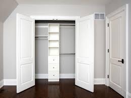 Customized Closet Doors Enchanting Design Closet Door Ideas Comes With Built In Closet And