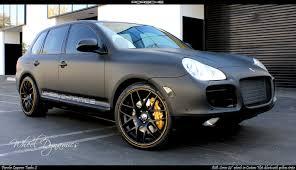 Porsche Cayenne Parts - photo matte black cayenne 22