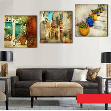 popular wall garden art buy cheap wall garden art lots from china 3 panels effect canvas paintings gardening home decoration wall art canvas painting decorative wall pictures