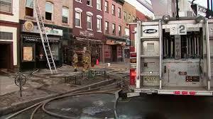 Urban Kitchen Hoboken Firefighters Battle 3 Alarm Fire At Building In Hoboken New