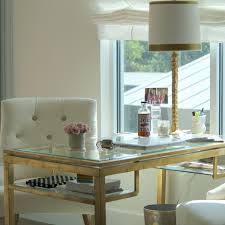 small home office design ideas glass desk hello lovely living arafen