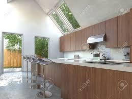 cuisine avec bar comptoir cuisine avec comptoir bar free cuisine en l avec pibar de la marque