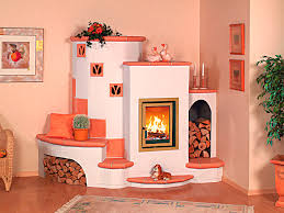 corner wood burning stove functional and interior beautifier