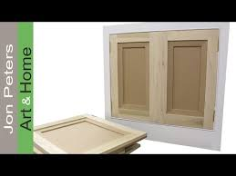 Hanging Cabinet Doors How To Make Hang Flat Panel Cabinet Doors