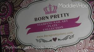 bornpretty stamping kit review youtube