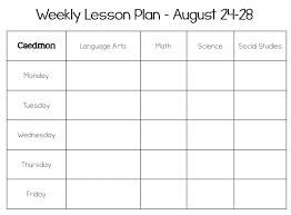 4th grade lesson plan template brockband plans for 3rd social st