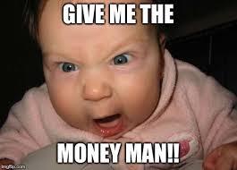 Man Baby Meme - evil baby meme imgflip