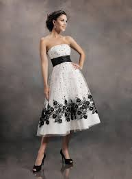 black and white wedding dresses 30 ideas of beautiful black and white wedding dresses the best