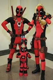 Deadpool Halloween Costume Family Halloween Costumes Scary Cute Ideas