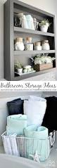 Bathroom Decorating Ideas by Best 25 Bathroom Wall Storage Ideas Only On Pinterest Bathroom