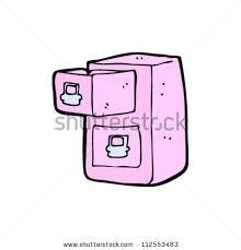 Pink Filing Cabinet Cartoon Filing Cabinet Stock Vector 103759895 Shutterstock
