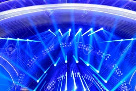special effects of stage lights background stock photo picture