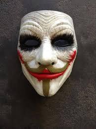 anonymous mask anonymous joker custom mask painted fawkes batman