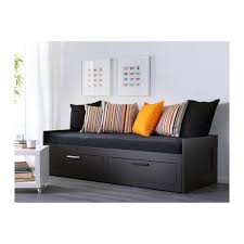 Sofa Bed With Storage Drawer Brimnes Daybed Frame With 2 Drawers Ikea Four Functions In One