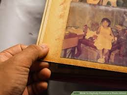 Photo Album Pages Sticky How To Digitally Preserve A Photo Album With Pictures Wikihow
