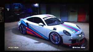 martini racing so i made a martini racing 911 gt3 rs lol still gotta tweak some