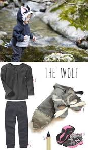 Toddler Wolf Halloween Costume Wolf Costume Child Toddler Spooky Wolf Costume