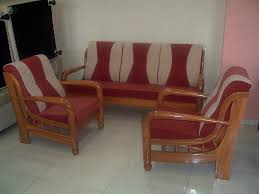 wooden sofa set home wall decoration