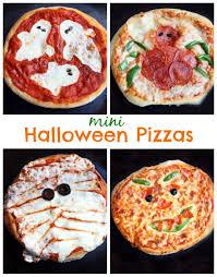 mini halloween pizzas tastes better from scratch