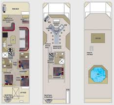 floor plan 46 ft expedition houseboat lake powell resorts diy