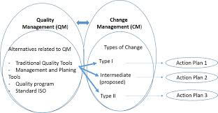 organizational change in quality management aspects a