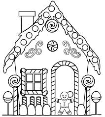 printable spooky house house stencil printable drawing stencils download gingerbread house