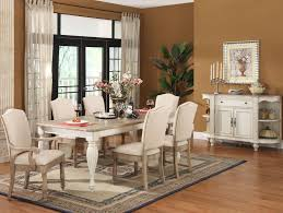 rectangular leg dining table with 18