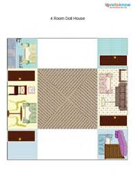 printable paper dollhouses