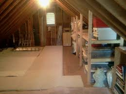good idea for storage shelves in attic now to figure out how to