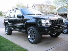 lowered 98 jeep grand cherokee project fireheadman 6 7l zj 410 cu in