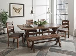 alston knotty nutmeg dining room set from coaster coleman furniture