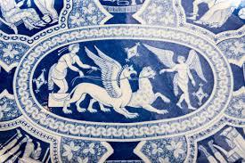 Greek Motifs Two Large Spode