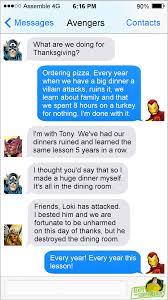 texts from superheroes happy thanksgiving from texts from superheroes