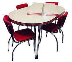 Retro Kitchen Dinettes Kitchen Table And Chair Sets Dining Room - Kitchen table retro
