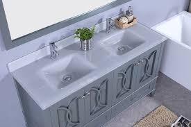 Double Basin Vanity 60
