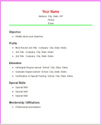 Resume Template For Teenager First Job by Teenage Resume Example High Resume Templates Teen Resume