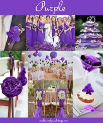 purple wedding decorations the 10 all time most popular wedding colors exclusively weddings